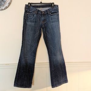 Citizen of Humanity jeans low waist bootcut 30